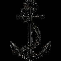 Anker-Tattoo mit Kette