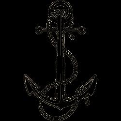 Anker mit Schiffstau