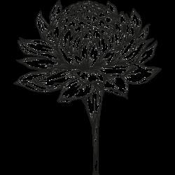 Tattoo mit Blume 11