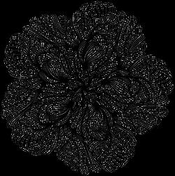 Blume als Tattoo 21