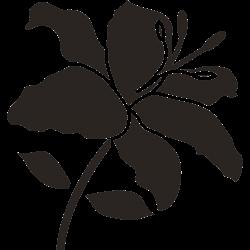 Blume Tattoo-Vorlage 28