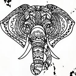Vorlage Elefant 15