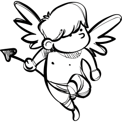 Engel als Tattoo 29