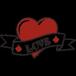 Herz Tattoo-Vorlage 7
