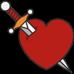 Herz als Tattoo 9