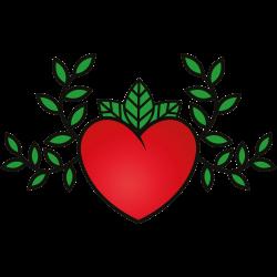 Herz Vorlage 19