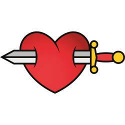 Herz Tattoo-Vorlage 30