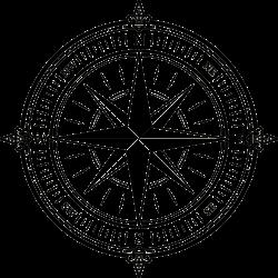 Tätowierung Kompass 7