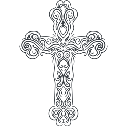 Tattovorlage Kreuz 4