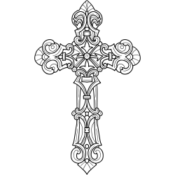 Tätowierung Kreuz 7