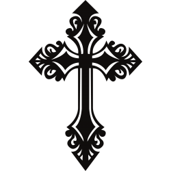 Kreuz Tattoo-Vorlage 8