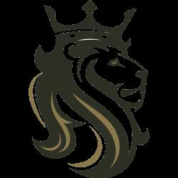 Löwe mit Krone als Tattoo