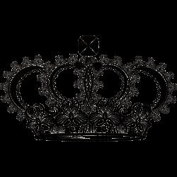 Krone mit großen Edelstein