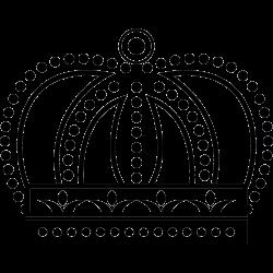 Krone Tattoo-Vorlage 15