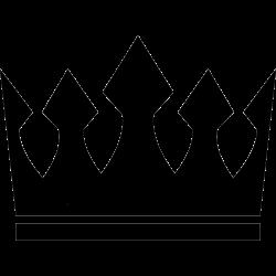 Schlichte Krone, ideal für kleine Tätowierung