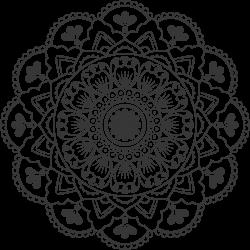 Mandala-Tätowierung 3