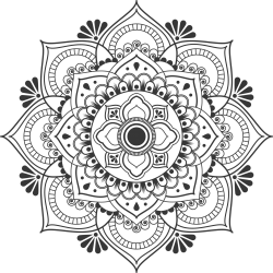 Tattovorlage Mandala 4