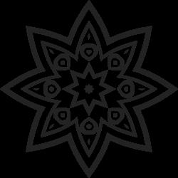 Mandala Vorlage 6