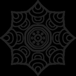 Vorlage Mandala 13
