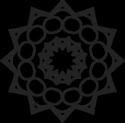 Vorlage Mandala 16