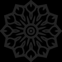Mandala Vorlage 17