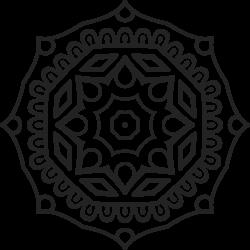 Mandala Tattoo-Vorlage 19