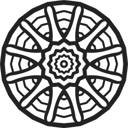 Mandala Vorlage 24