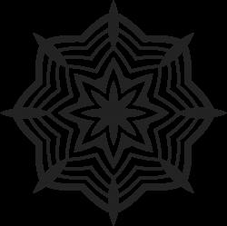 Mandala-Tätowierung 25