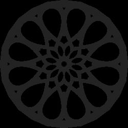 Mandala Tattoo-Vorlage 31