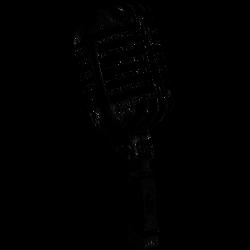 Mikrofon-Tätowierung