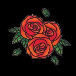 Vorlage Rose 13