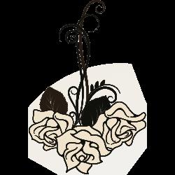 Tattovorlage Rose 15