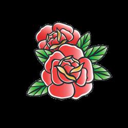 Rose Tattoo-Vorlage 30