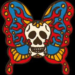 Tag des Todes Schmetterling