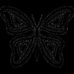 Schmetterling-Tätowierung 22