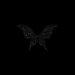 Schmetterling für großes Tattoo