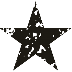 Vorlage Stern 5