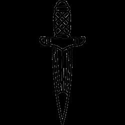 Tattoo mit Schwert