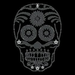 Totenkopf als Tattoo 10