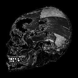 Tattovorlage Totenkopf 15