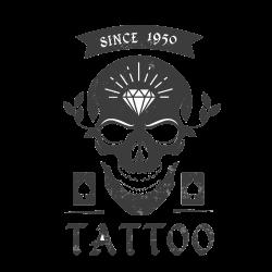 Totenkopf als Tattoo 21