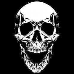 Totenkopf als Tattoo 31