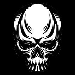 Motiv Totenkopf 33