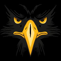 Adler mit gelbem Schnabel
