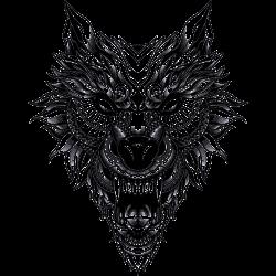 Böser Wolf - Fantasy
